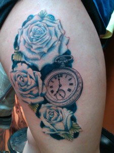 Roses_Pocketwatch_tattoo_Rick_Donovan