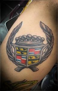 Cadillac_Logo_Tattoo_Abdiel_Pedraza