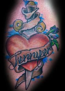 Heart_banner_Dagger_Tattoo_Shahki_Knott
