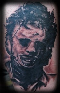 Leatherface_Tattoo_Abdiel_Pedraza