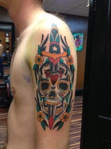 Skull_Dagger_Flowers_Tattoo_Jay_Bargoil