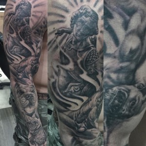 St_Micheal_Sleeve_Tattoo_Abdiel_Pedraza